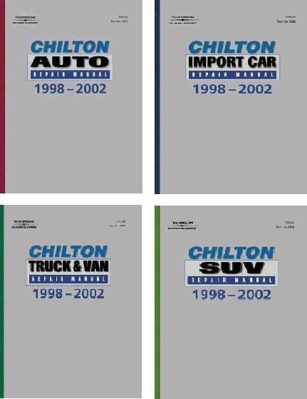 chilton repair manual depositfiles