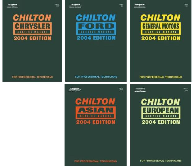 2004 chilton s service manual set 5 manuals 2000 2003 year rh autorepairmanuals biz chilton service manuals free download chilton service manual 1995 cadillac deville