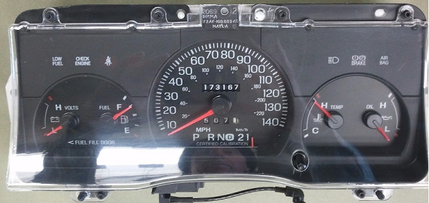 Ford Crown Victoria Instrument Cluster Repair  Mph Police