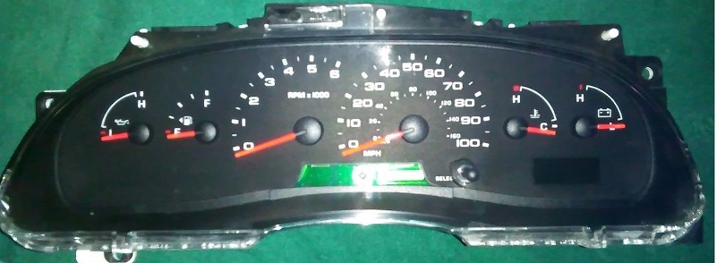 Instument Panel Cluster Ford E Fuel Wiring Diagram on