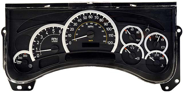 2003 2004 Hummer H2 Instrument Cluster Repair Except Kilometer Speedometer: Hummer Instrument Cluster Wiring Diagram At Shintaries.co