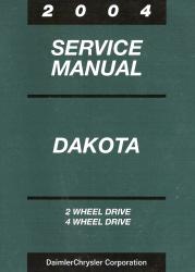 2004 dodge dakota service manual