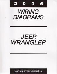 2006 jeep wrangler factory wiring diagram manual. Black Bedroom Furniture Sets. Home Design Ideas