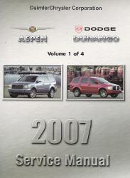 dodge durango 2007 manual