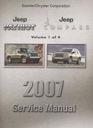 2007 jeep patriot   compass service manual 4 volume set 2012 Jeep Patriot Repair Manual jeep patriot & compass (07-17) haynes repair manual pdf