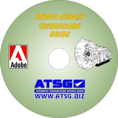 Toyota A750E / A750F Tech Guide Mini CD