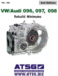 volkswagen audi 096 01m 097 01n 098 01p transaxle rebuild rh autorepairmanuals biz Types of VW Transmissions Manual Transmission Car