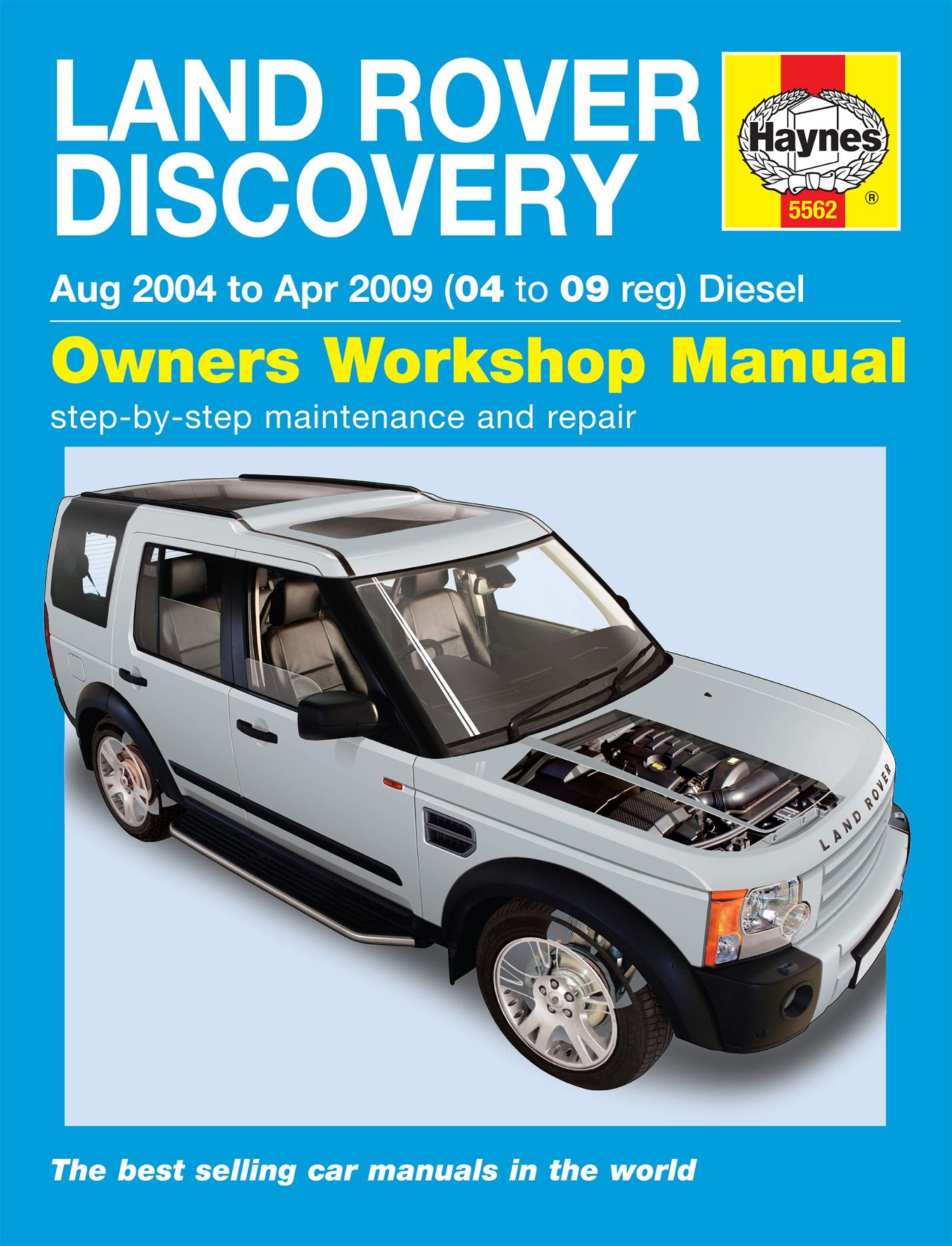 2004 2009 land rover discovery diesel repair manual 5562. Black Bedroom Furniture Sets. Home Design Ideas