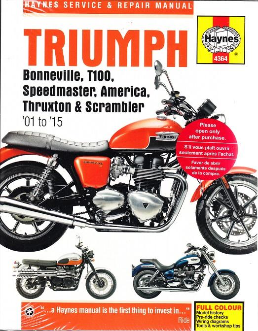 2001 2015 triumph bonneville t100 speedmaster america thruxton rh autorepairmanuals biz 2013 Triumph Bonneville T100 2014 Triumph Motorcycles