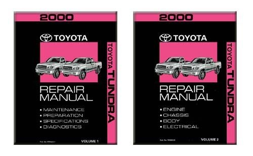2000 Toyota Tundra  U0026 Sr5 Factory Service Manual