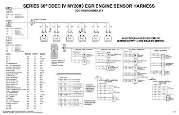 detroit diesel ddec iv with jake brake engine cab wiring diagram rh autorepairmanuals biz detroit ddec 4 wiring diagram detroit diesel ddec iv wiring diagram