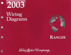 2003 Ford Ranger Wiring Diagrams Manual