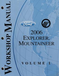 2006 Ford Explorer Amp Mercury Mountaineer Workshop Manual border=