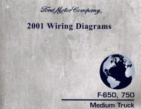 2001 ford f 650 f 750 medium duty truck wiring diagrams. Black Bedroom Furniture Sets. Home Design Ideas
