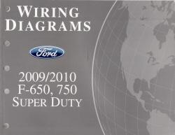 2009 2010 ford f 650 750 super duty factory wiring. Black Bedroom Furniture Sets. Home Design Ideas