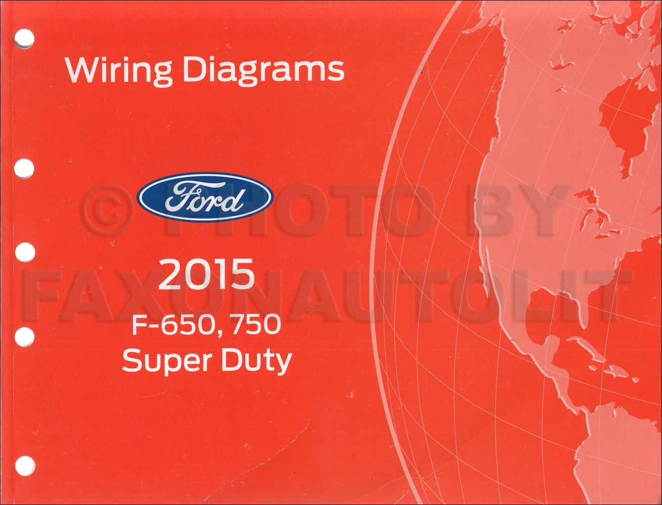 2015 ford f650 / f750 factory wiring diagram