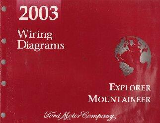 2003 ford explorer mercury mountaineer wiring diagrams Starter System Diagram