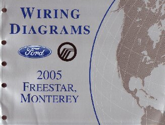 2005 ford freestar mercury monterey wiring diagrams. Black Bedroom Furniture Sets. Home Design Ideas