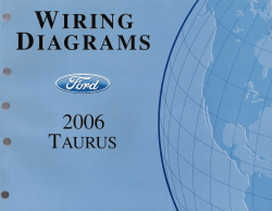 2006 2007 Ford Taurus Factory Wiring Diagrams