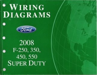 FCS1461208 ford f250, f350, f450, f550 wiring diagrams 2008 ford f250 wiring diagram at bayanpartner.co