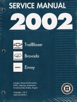 2002 Chevrolet/GMC/Oldsmobile:TrailBlazer, Bravada, and ...