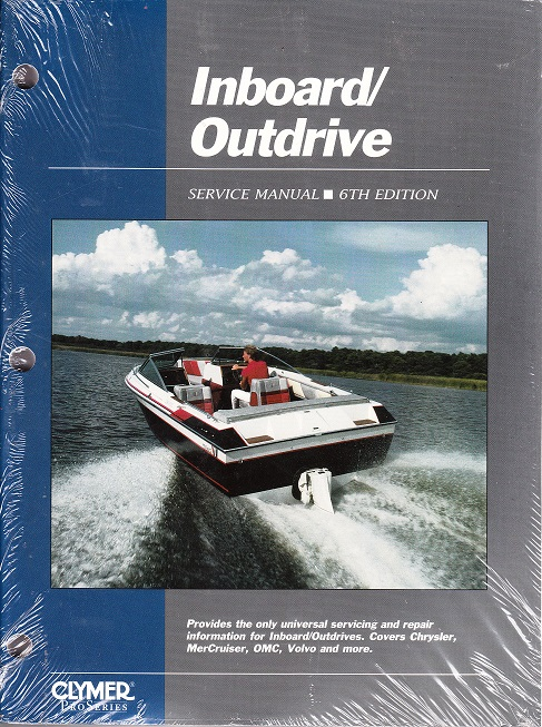 Inboard/Outdrive Service Repair Manual- Marine Drive Systems