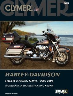 2006 - 2009 Harley Davidson FLH / FLT Touring Series Clymer Service Neutral Safety Switch Wiring Diagram Fxstsse on