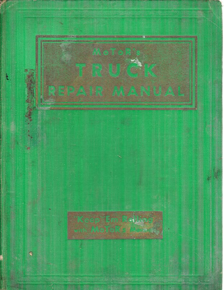 motor truck repair manual 34th edition