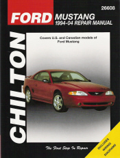 1994 - 2004 Ford Mustang Chilton's Total Car Care Manual