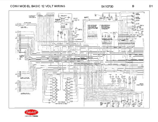 peterbilt 348 conventional models basic 12 volt wiring diagram schematic rh autorepairmanuals biz body 348 peterbilt wiring schematics peterbilt wiring schematics #7