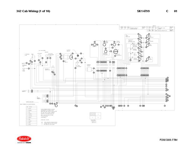 peterbilt 359 complete electrical wiring diagrams rh autorepairmanuals biz peterbilt wiring diagram truckers report peterbilt wiring diagram for tail lights