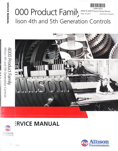 Service manual 4500rds array allison 4000 product family transmission service manual rh autorepairmanuals fandeluxe Image collections