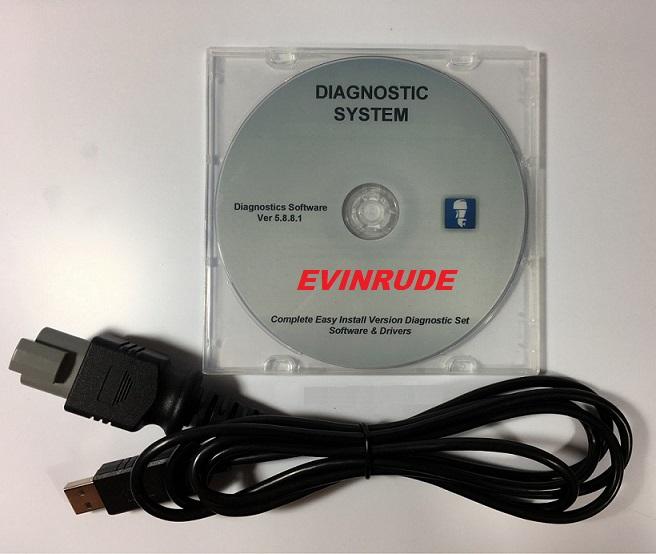 1999 - 2017 EVINRUDE OUTBOARD E-TEC, FICHT, DI- Full ECU Coding