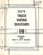 1979 gmc truck all medium and heavy duty models wiring diagrams
