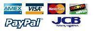 AutoRepairManuals.biz Payments methods: AmEx, Visa, MasterCard, Discover, JCB, PayPal