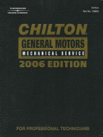 2006 Chilton 39 S General Motors Service Manual 2002 2005