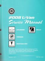 2008 chevrolet uplander pontiac montana sv6 buick terraza saturn rh autorepairmanuals biz Toyota Sienna Saturn Outlook