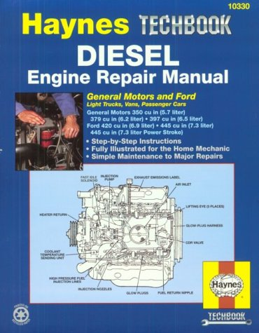 Chilton haynes auto truck repair service shop manuals diesel service book ford fandeluxe