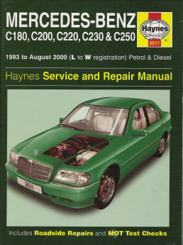 mercedes_c series_ oem factory manual mercedes benz for service & repair  at sewacar.co