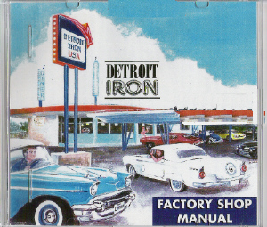 Detroit Iron factory manual CD
