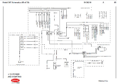 sk30218 oct 15, 2001 peterbilt 387 complete wiring diagram schematic peterbilt wiring schematics 387 at creativeand.co