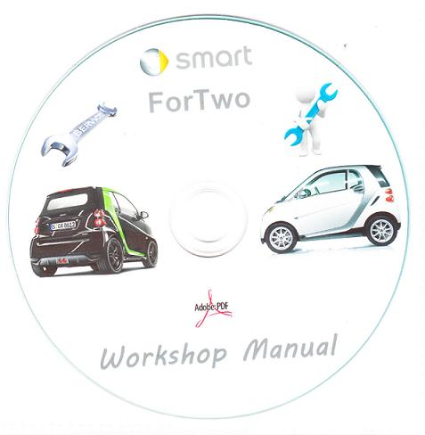 1998 2010 smart car 450 451 repair operator manual rh autorepairmanuals biz smart car workshop manual download free smart car workshop manual