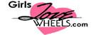 Girls Love Wheels Logo Girls Love Wheels.com